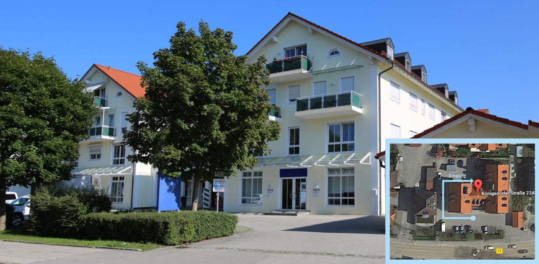 Anfahrt zur Alpenlandpraxis Beate Fröbe Wolfratshausen